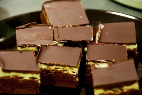 mint mint brownies